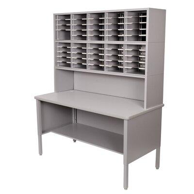 Marvel Office Furniture 50 Adjustable Slot Literature Organizer with Riser