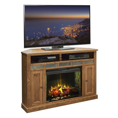 Oak Creek TV Stand with Electric Fireplace by Legends Furniture