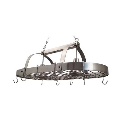 2 Light Kitchen Pot Rack by All the Rages