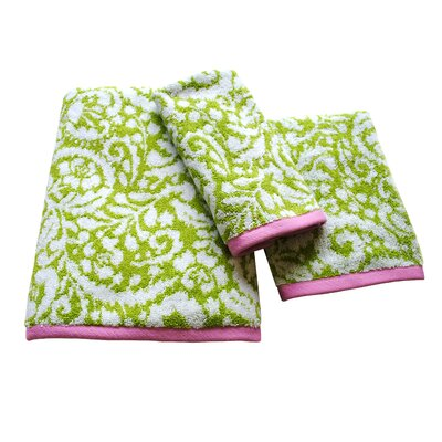 Ikat Jacquard Hand Towel by Dena Designs