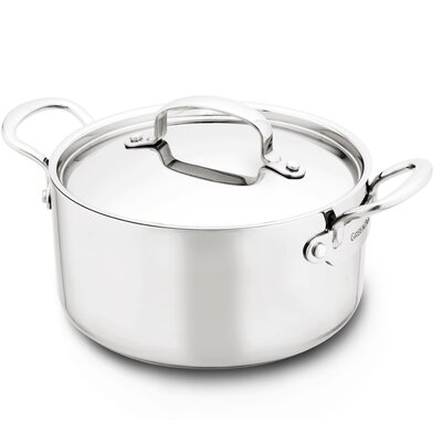 Barcelona Stainless Steel Round Casserole by GreenPan
