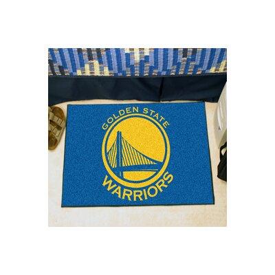 FANMATS NBA Golden State Warriors Starter Doormat