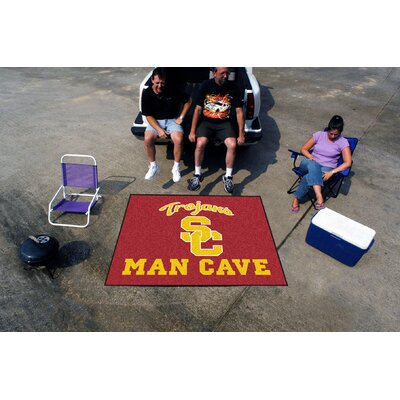 Collegiate University of Southern California Man Cave Tailgater Outdoor Area Rug by FANMATS