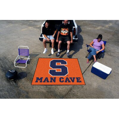 Collegiate Syracuse University Man Cave Tailgater Outdoor Area Rug by FANMATS