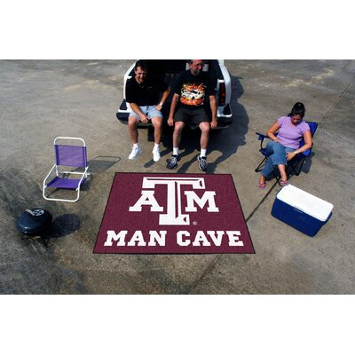 Collegiate Texas A&M University Man Cave Tailgater Outdoor Area Rug by FANMATS