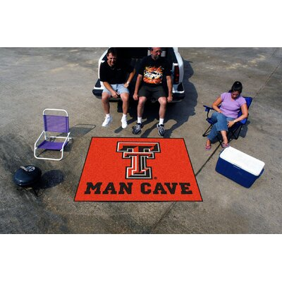 Collegiate Texas Tech University Man Cave Tailgater Outdoor Area Rug by FANMATS