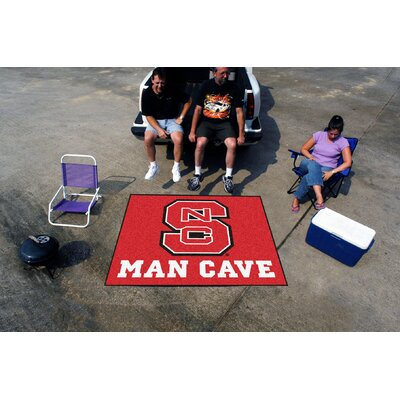Collegiate North Carolina State Man Cave Tailgater Outdoor Area Rug by FANMATS