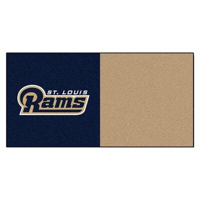 """FANMATS NFL Team 18"""" x 18"""" Carpet Tile"""