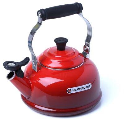 Enamel On Steel 1.8-qt. Classic Whistling Tea Kettle by Le Creuset