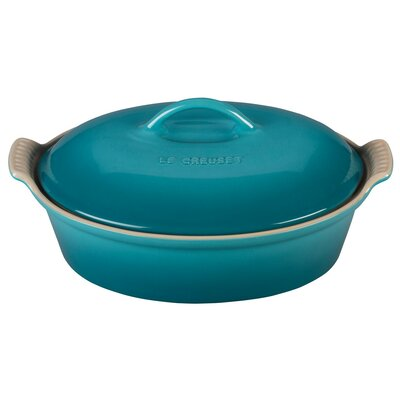 Heritage Covered Oval Casserole by Le Creuset