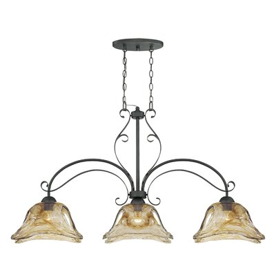Chatsworth 3 Light Kitchen Pendant by Millennium Lighting