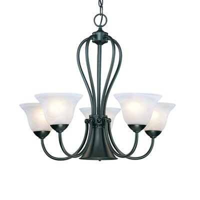Main Street 5 Light Chandelier Product Photo