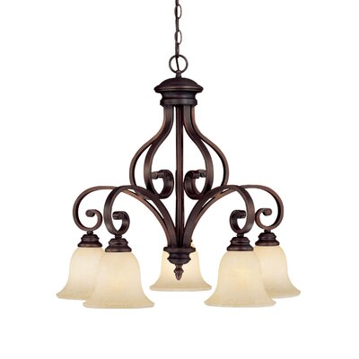 Oxford 5 Light Chandelier Product Photo