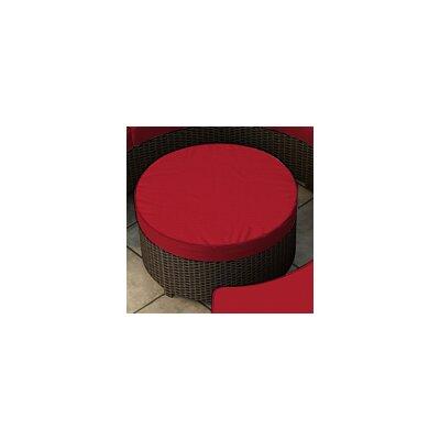 Forever Patio Hampton Ottoman with Cushion