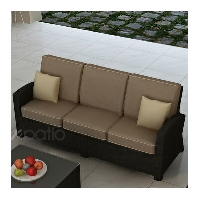 Barbados Sofa with Cushions by Forever Patio