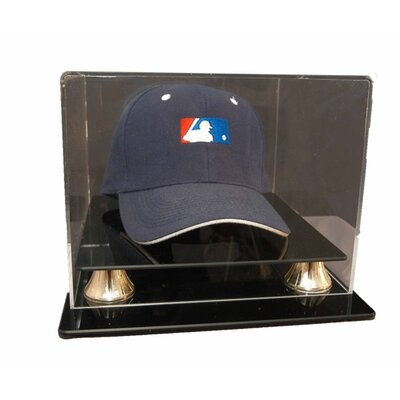 """Caseworks International 6.875"""" Cap Display with Gold Risers"""