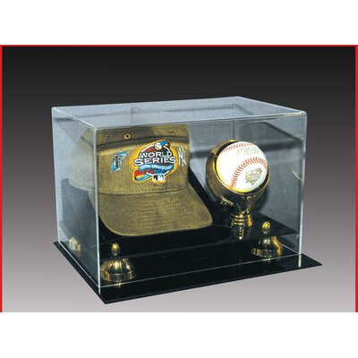 Caseworks International Cap and Baseball Display Case