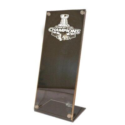 Caseworks International Chicago Blackhawks Stanley Cup Champions Stand Up Ticket Holder