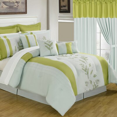 Maria 24 Piece Bed in a Bag Set by Lavish Home