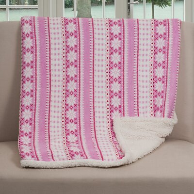 Lavish Home Stars Throw Blanket