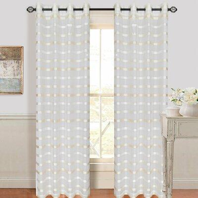 Arla Grommet Single Curtain Panel Product Photo