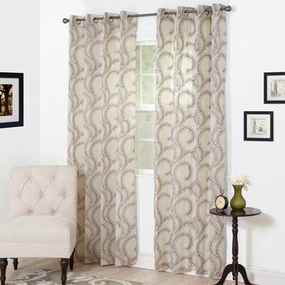 Andrea Single Curtain Panel Product Photo