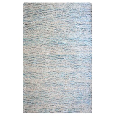 Tribe Blue Area Rug by Rug Studio