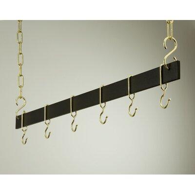 Gourmet Hanging Bar Pot Rack by Rogar