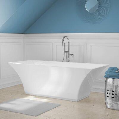 "Abzu 67"" x 23"" Soaking Bathtub Kit Product Photo"
