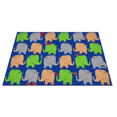 KidCarpet.com Elephant Seating Classroom Area Rug