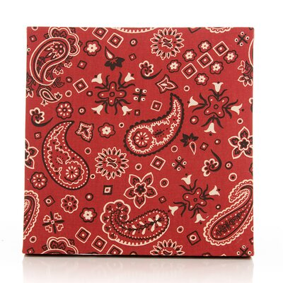Happy Trails Bandana Fabric Canvas Art by Sweet Potato by Glenna Jean