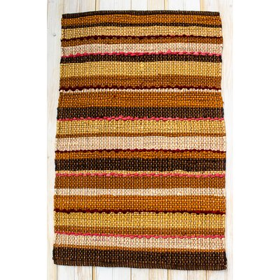 Ric Rac Gold/Yellow Spice Area Rug by CLM