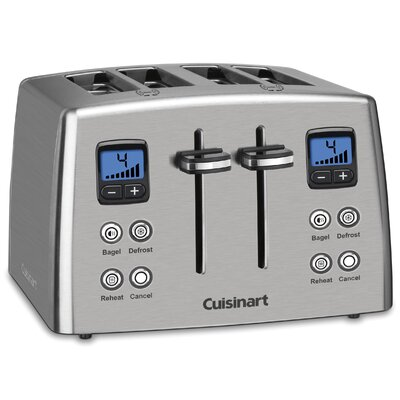 Classic Series 4 Slice Compact Toaster by Cuisinart