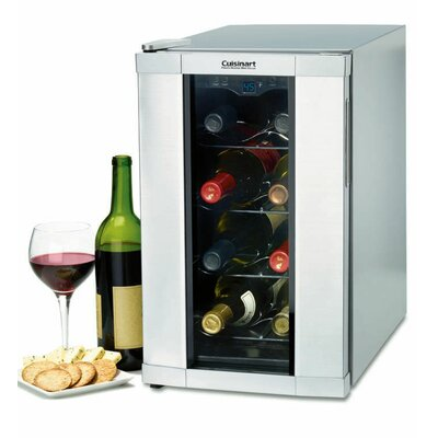 Private Reserve 8 Bottle Single Zone Freestanding Wine Refrigerator by Cuisinart