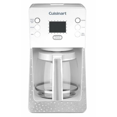 Crystal 14-Cup Glass Programmable Coffee Maker by Cuisinart
