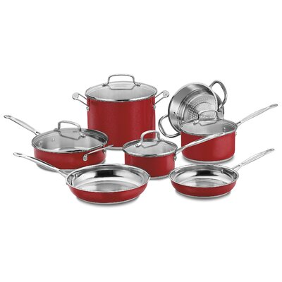 11-Piece Cookware Set With Create by Cuisinart