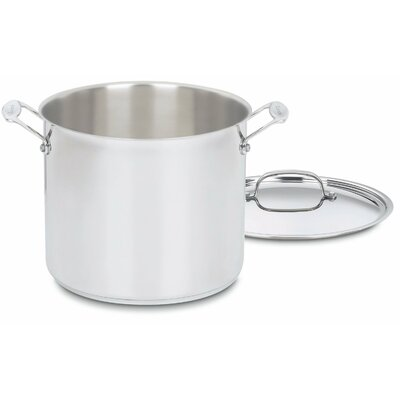 Chef's Classic Stainless Lid for 12-qt. Stock Pot by Cuisinart