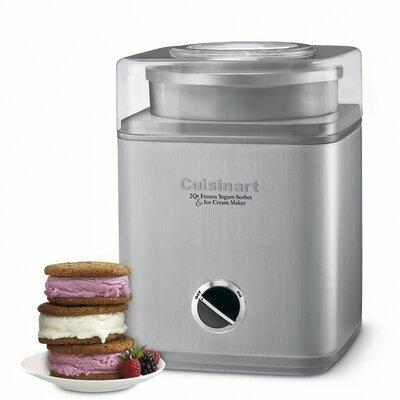 Cuisinart Pure Indulgence 2 Qt. Frozen Yogurt, Sorbet & Ice Cream Maker