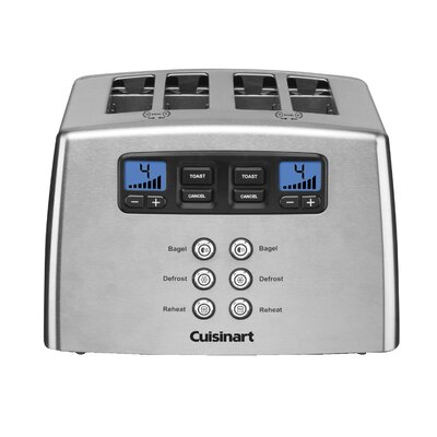 4 Slice Countdown Leverless Toaster by Cuisinart