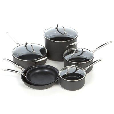 Cuisinart Chef's Classic Non-stick Hard-Anodized 10 Piece Cookware Set