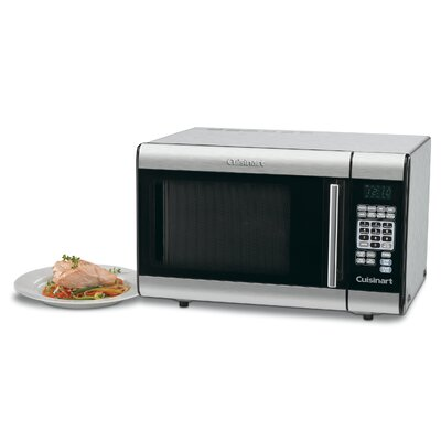 Cuisinart 1.0 Cu. Ft. 900W Countertop Microwave in Stainless Steel
