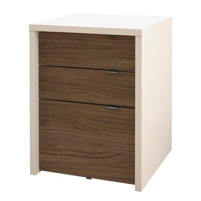 Liber-T 3 Drawer File Cabinet by Nexera