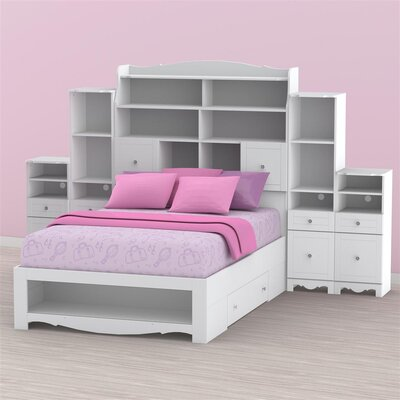 "Nexera Pixel 37.38"" Standard Bookcase"
