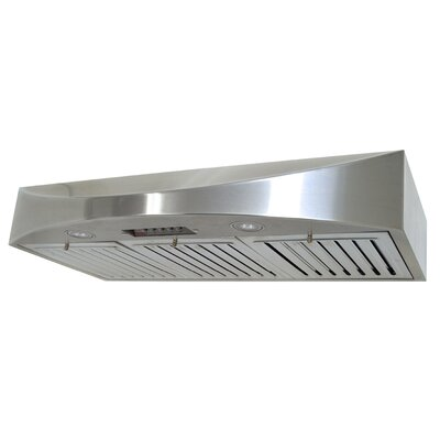 "Premium 36"" 300 -  680 CFM Under Cabinet Range Hood Product Photo"