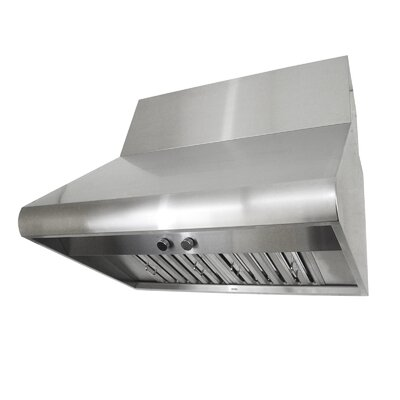 "Premium 30"" 300 - 760 CFM Wall Mount Range Hood in Stainless Steel Product Photo"