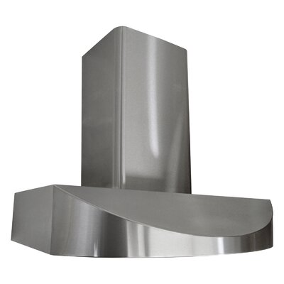 "Premium 36"" 680 CFM Wall Mount Range Hood Product Photo"