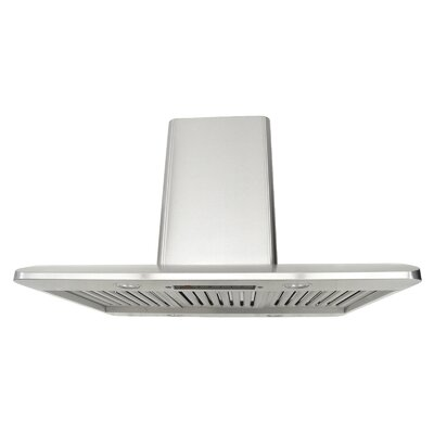 "Premium 42"" 300 - 750 CFM Island Range Hood Product Photo"