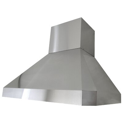 "Premium 42"" 450 - 1200 CFM Wall Mount Range Hood Product Photo"