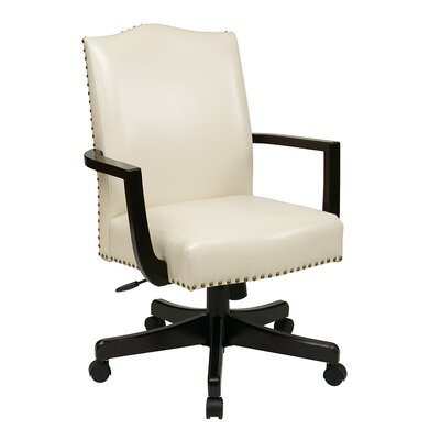 Inspired by Bassett Morgan High-Back Eco Leather Executive Office Chair