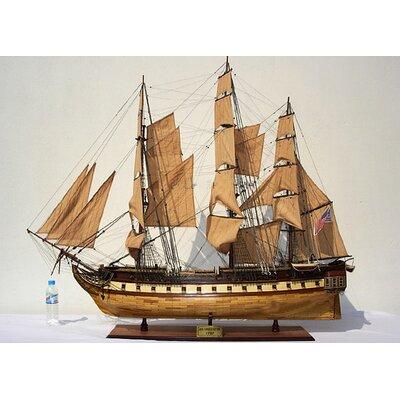 Old Modern Handicrafts USS Constitution X-Large Model Ship